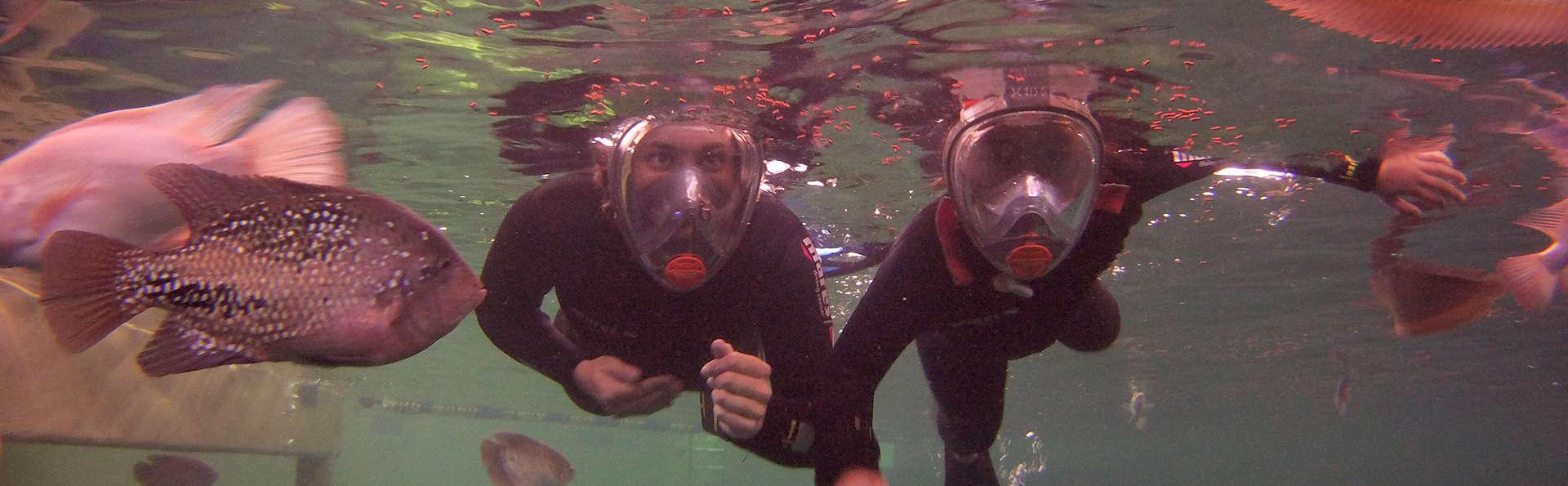 Snorkelen met tropische zoetwatervissen