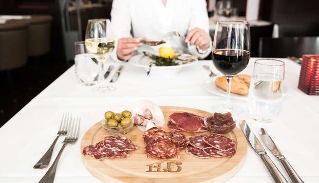 Charme, confort et diner gastronomique 3 services à Maastricht