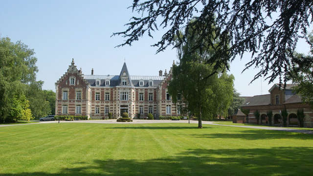 Charme in een kasteel in Saint Omer