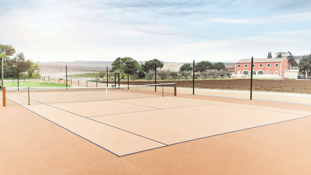 Chateau l Hospitalet - NEW TENNIS