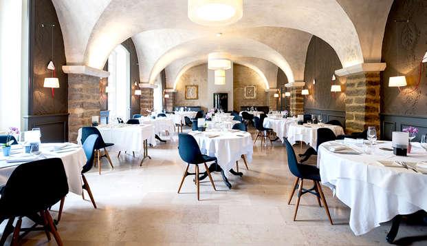 Weekendje weg met diner en wijnproeverij in de buurt van Dijon