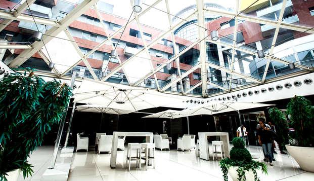En Rende, cerca de Cosenza, en una habitación superior de un moderno y elegante hotel de 4*