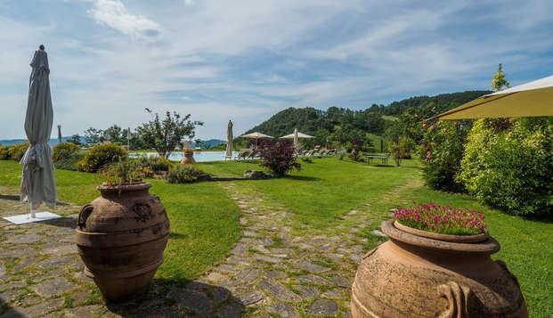 Oasis de paix et de silence entouré de verdure à Assise