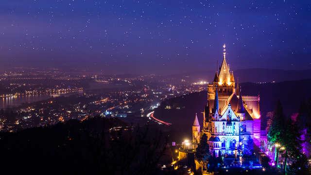 Descubre el Rin de una forma romántica con cena a la luz de las velas