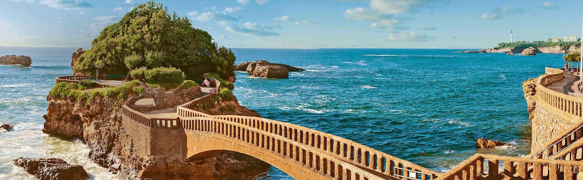 Thalassothérapie en bord de mer à Biarritz