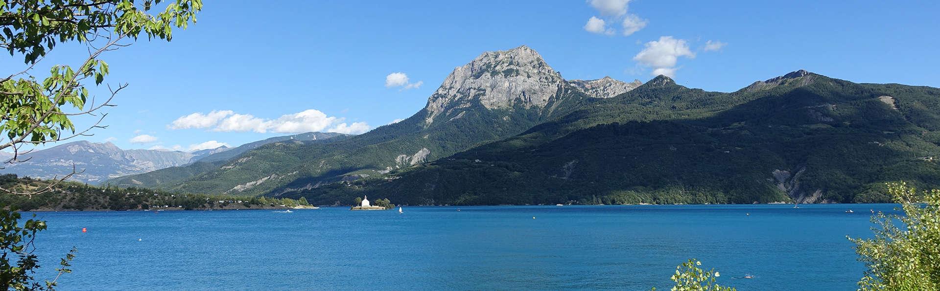 Week-end près du lac Lauzet dans les Alpes-de-Haute-Provence