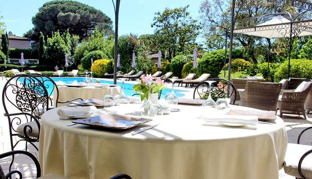 Week-end avec dîner gastronomique dans le Golfe de Saint-Tropez