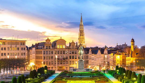 Luxe verblijf in de Belgische hoofdstad (vanaf 2 nachten)