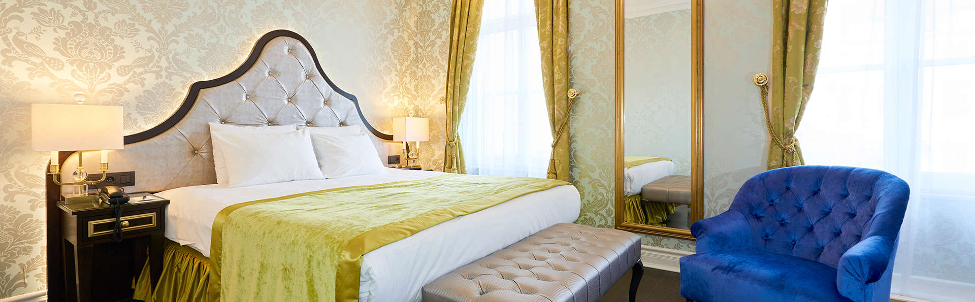 Profitez du luxe d'un 5* dans une suite junior au cœur de Bruxelles