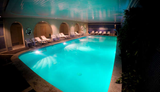 Relax total en la Costa Brava: con cena y spa en Sant Feliu de Guíxols