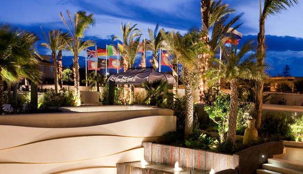 Relax in Sicilia: in un resort a Mazara del Vallo in mezza pensione e con SPA