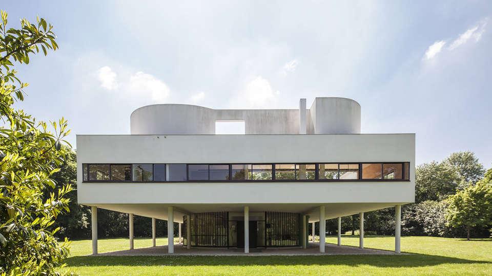Villa Savoye Monuments Nationaux Fr