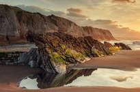 Playa de Itzurun -