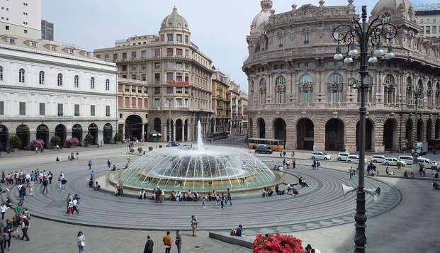 Card dei musei e dei trasporti di Genova con soggiorno nel Mediterraneo Emotional Hotel & Spa