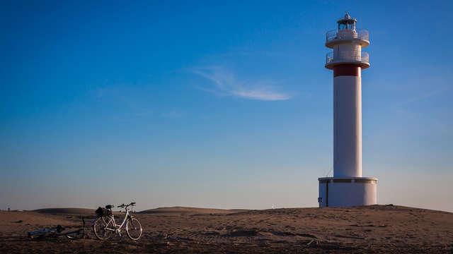 Fin de Semana en el Delta: bici, kayak en hotel 4* en Tortosa con cena