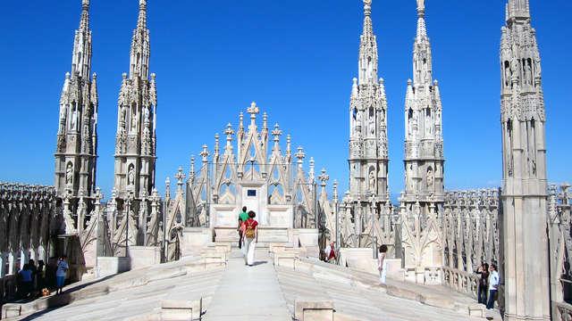 Week-end à la découverte deMilan, avec visite au Duomo et audio-guide