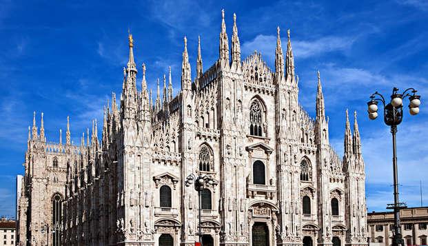 Weekendje in Milaan in modern businesshotel met bezoek aan de dom