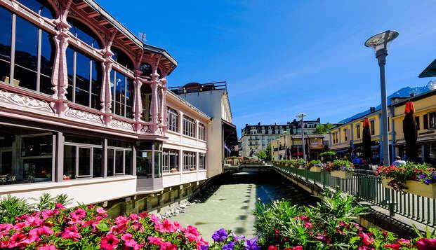 Étape relaxante dans la station de Chamonix (à partir de 4 nuits)