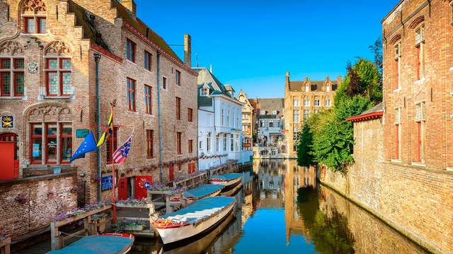 Romance, croisière, luxe et cava près de Bruges