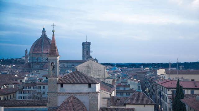 Nuit au coeur de Florence avec vue sur la ville