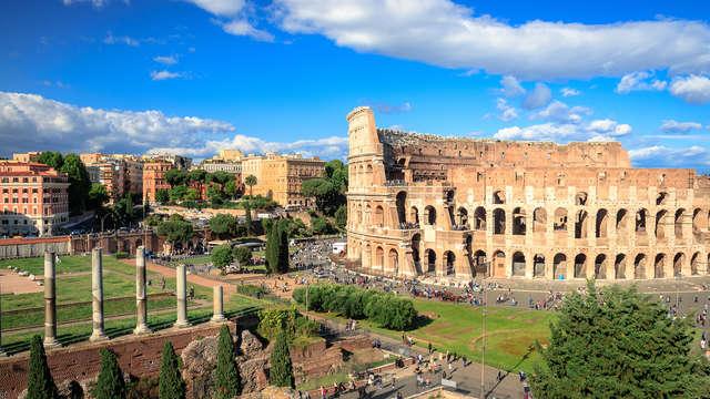 Entre les rues historiques de Rome dans un hôtel du centre