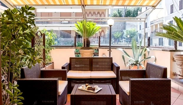 Week-end à Rome : séjour à proximité du Vatican en hôtel 3 étoiles, avec terrasse panoramique