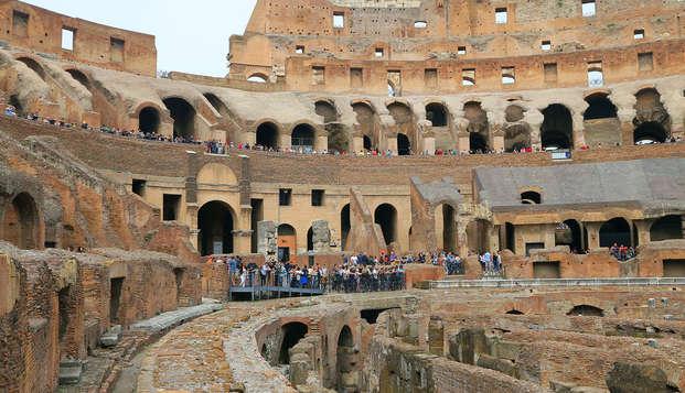 Découvrez les secrets de Rome en chambre triple