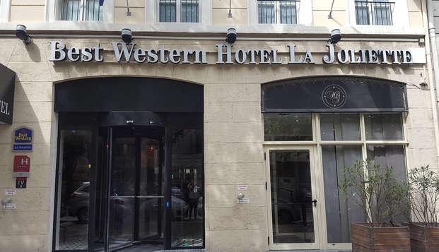 Best Western Plus Hotel La Joliette - NEW Front