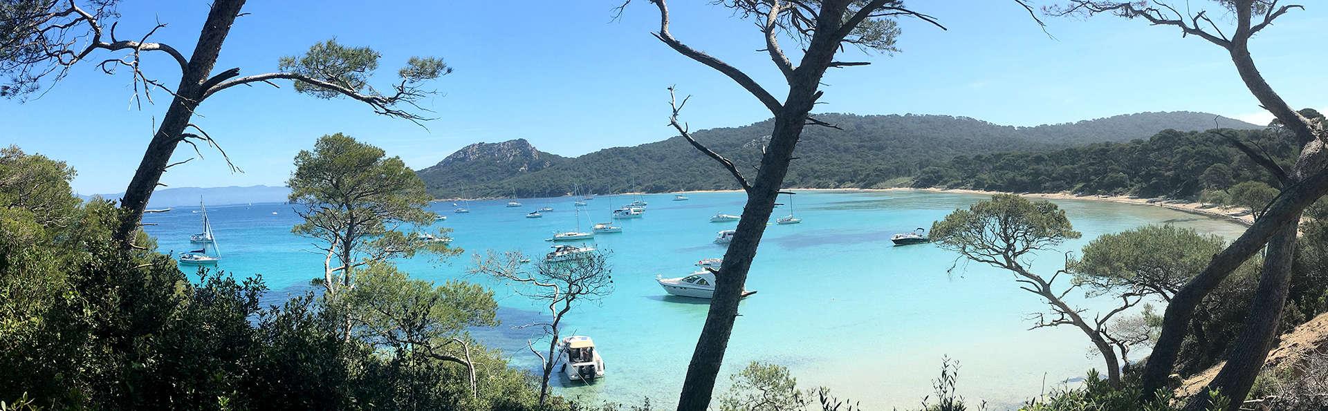 Brise marine et découverte de l'île de Porquerolles