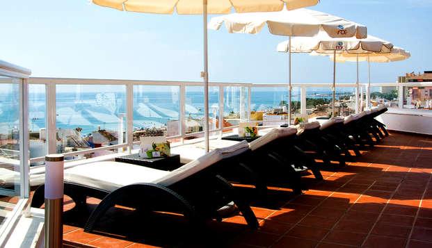Escápate en pensión completa a este Hotel 4* en Torremolinos, Málaga