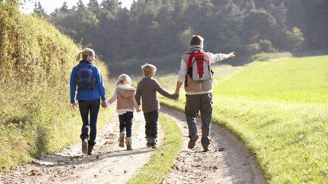 Escapada familiar en la Alpujarra Granadina con vistas a Sierra Nevada (2 niños gratis)
