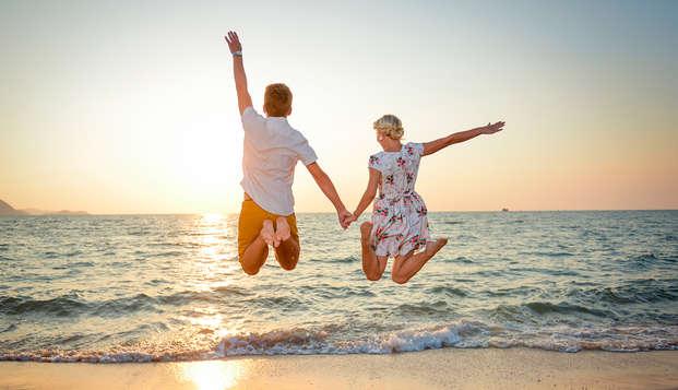 Séjour romantique en bord de mer (à partir de 3 nuits)