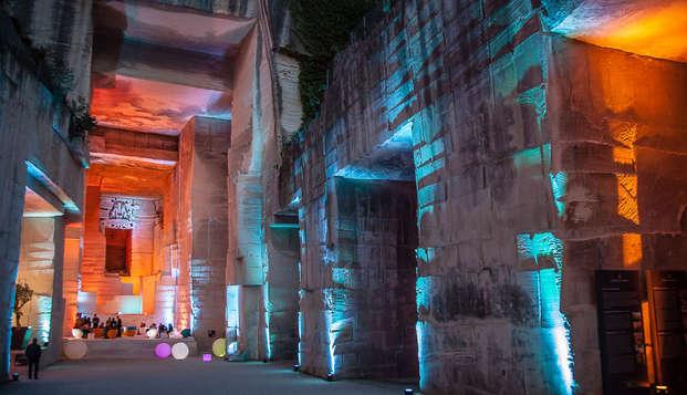 Week-end découverte des Baux-de-Provence avec visite du Château et des Carrières Lumières