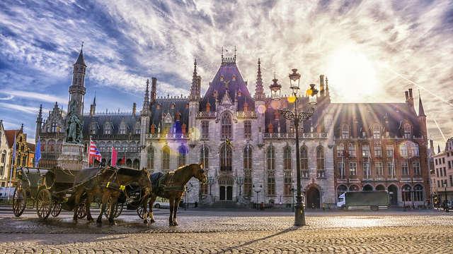 Week-end dans une chambre Deluxe à Bruges