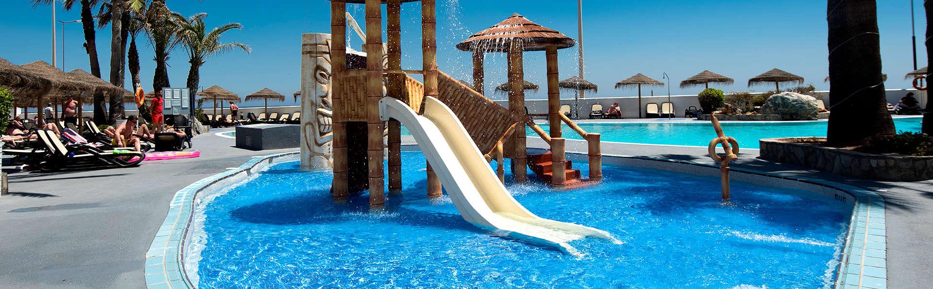Escapade en famille: hôtel en bord de mer de Playa Serena, à Roquetas de Mar (Almeria)