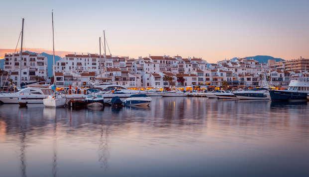 Disfruta de Marbella y de esta escapada 4* en media pensión