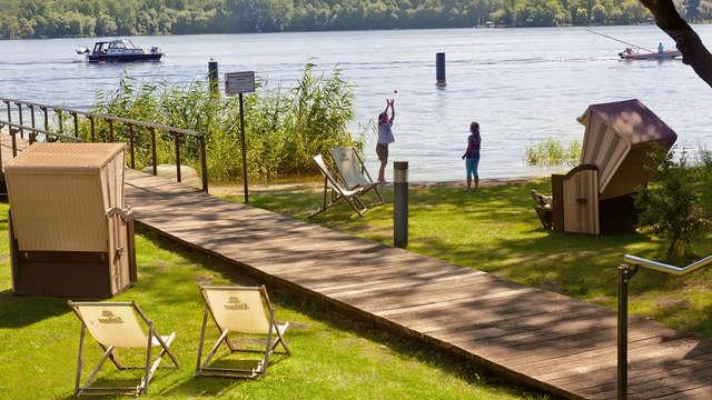 Cultura y naturaleza en Templiner See en Potsdam