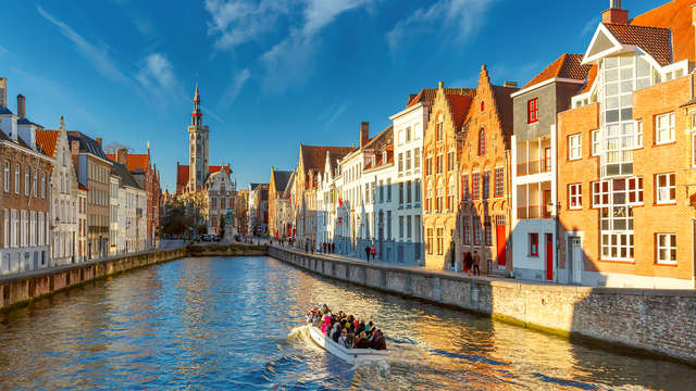 Passez la nuit dans cet hôtel historique au cœur de Bruges