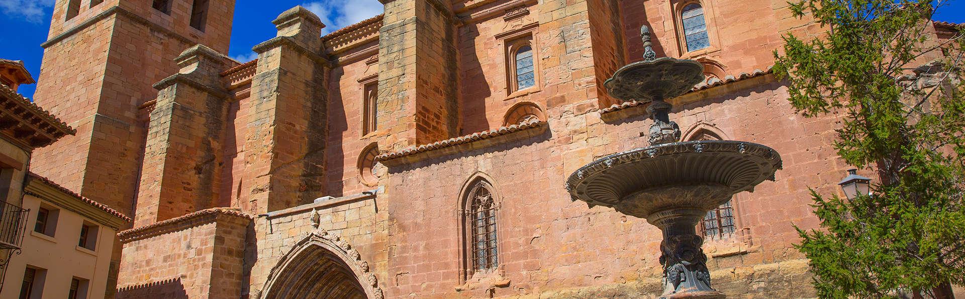 Disfruta de un merecido descanso en un bonito apartamento en Mora de Rubielos (Teruel)