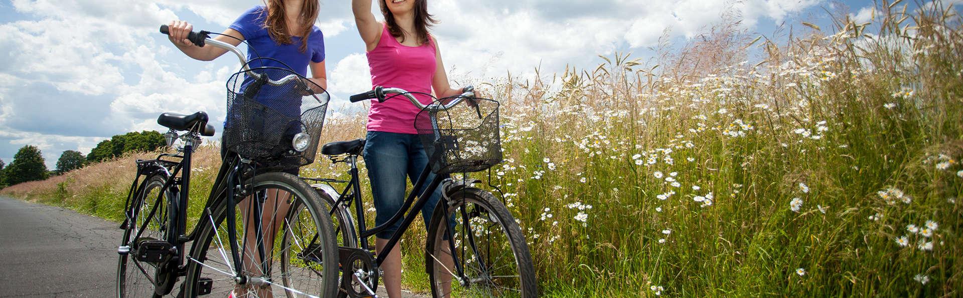 Vélo et détente à deux à Courtrai