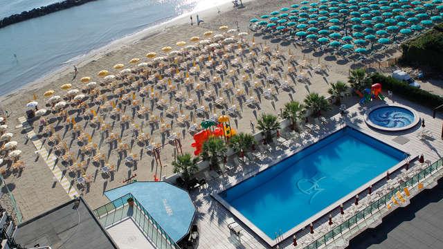 In riva al mare alle porte di Pescara con pensione completa (7 notti/non rimborsabile)