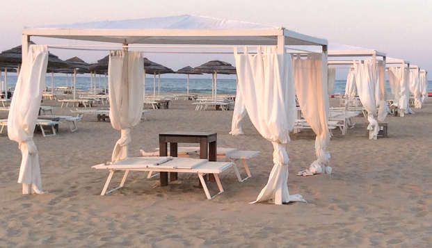 Soggiorno romantico a Rimini con drink di benvenuto e late check-out!
