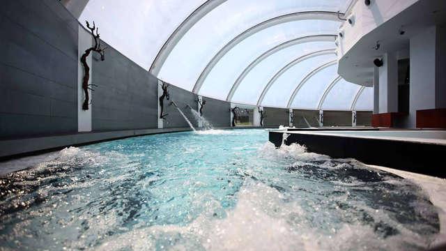 Relax & Enología: Escapada con acceso al circuito hidrotermal y visita bodega en Rioja Alavesa