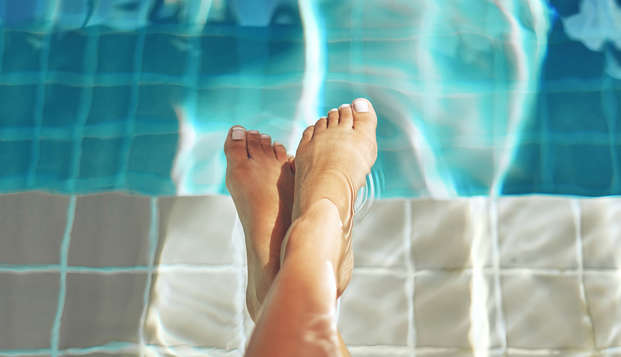 Relax en un balneario con circuito de agua termal en Caldes de Montbui