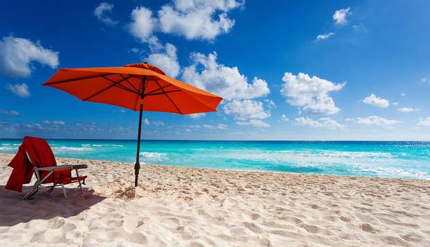 Soggiorno di 7 notti ad Amantea con spiaggia privata e palestra incluse