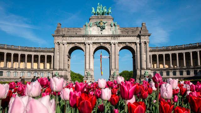 Spécial printemps : Convivialité et délicieux chocolat lors d'un city trip à Bruxelles (2 nuits)