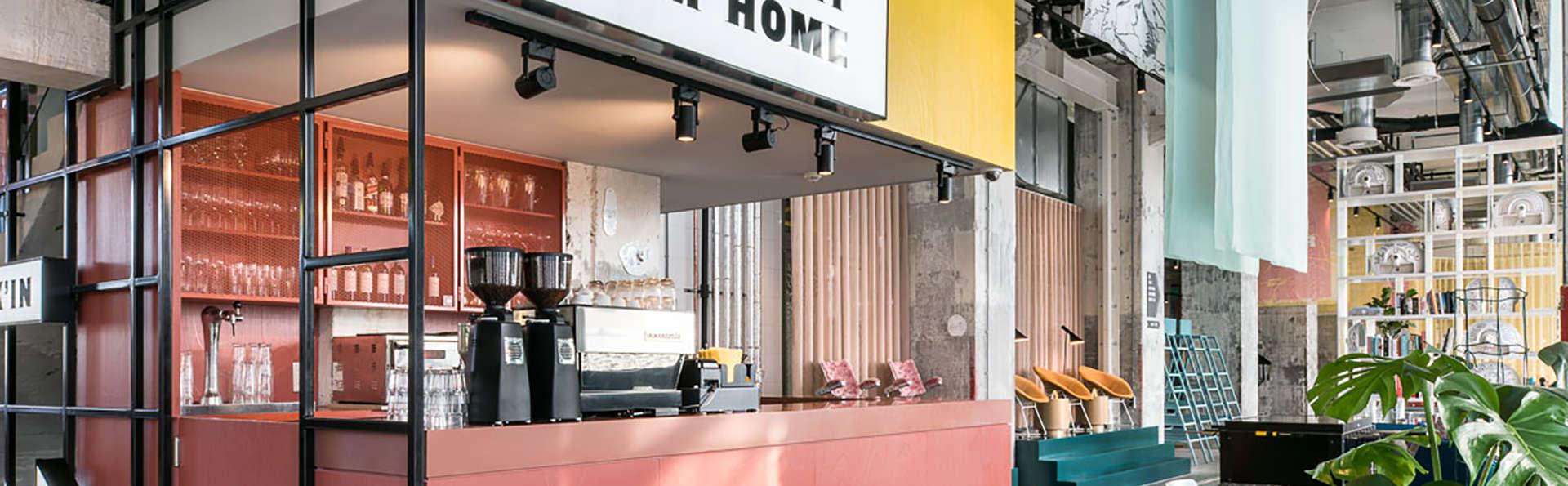 Découvrez le quartier branché de Maastricht depuis un hôtel design