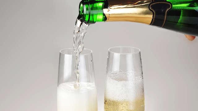 glaasje bubbels voor 2 volwassenen