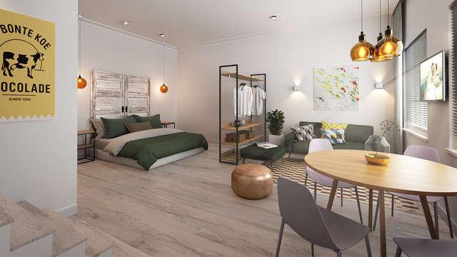 1 overnachting in een suite deluxe voor 2 volwassenen