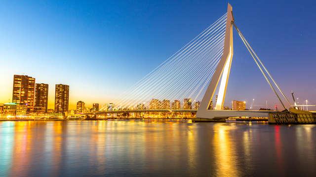 Luxe, comfort en Rotterdam ontdekken vanaf het water